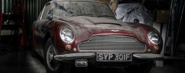 Barn find Aston offered at no reserve