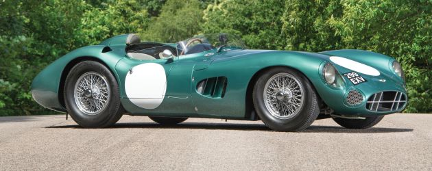 Aston Martin DBR1 heads to auction