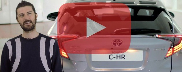 VIDEO: Toyota's striking C-HR crossover
