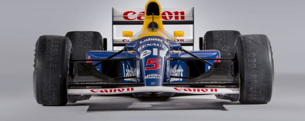 Nigel Mansell's Williams for sale