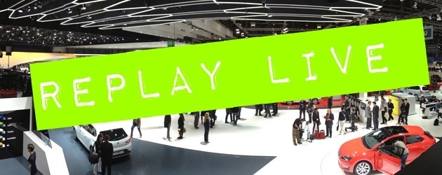 REPLAY LIVE COVERAGE: The Frankfurt Motor Show 2013