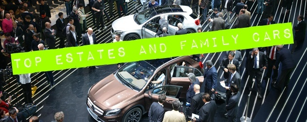 Frankfurt Motor Show 2013: Top 10 Estates And Family Cars