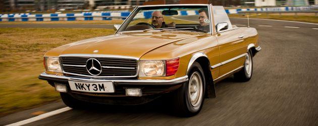 Mercedes 450SL joins the fleet