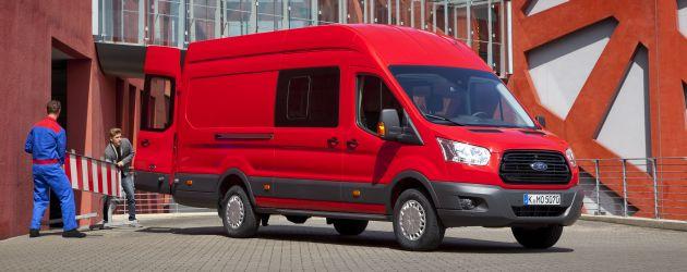 Top 10: Crew Cab Vans