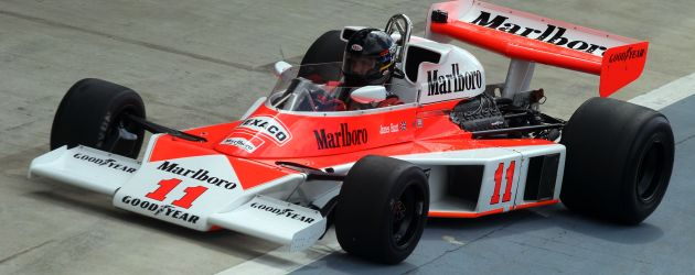 James Hunt tributes for Silverstone Classic
