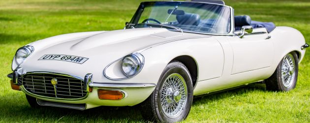 Boycie's E-type for sale