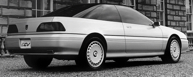 Classic Concept Cars: Rover CCV