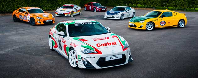 Toyota recreates its classic racing heritage